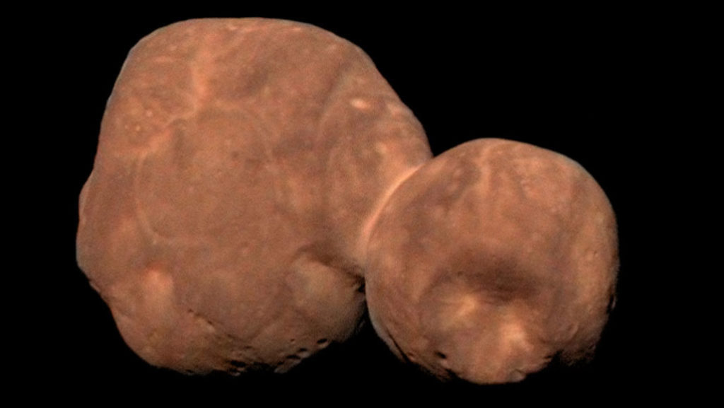 Arrokoth--or as it was previously known Ultima Thule--may reveal secrets about the formation of the solar system (NASA, JOHNS HOPKINS UNIVERSITY APPLIED PHYSICS LABORATORY, SOUTHWEST RESEARCH INSTITUTE, ROMAN TKACHENKO)
