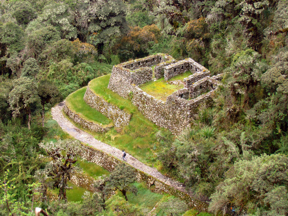 Inca fort.