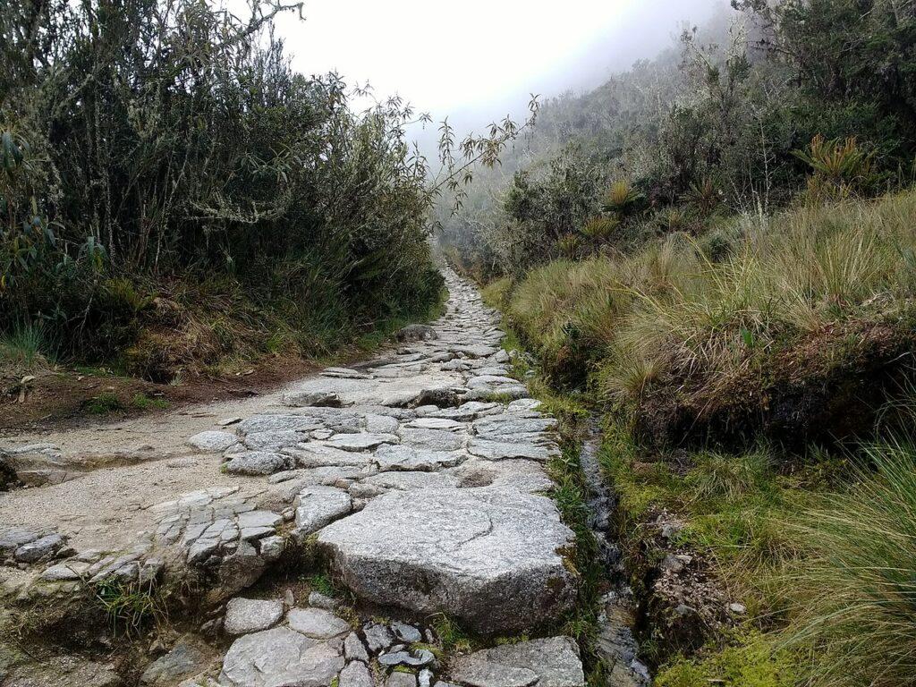 Inca road.